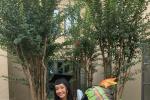 陈冲大女儿哈佛毕业照曝光 笑容甜美神似母亲