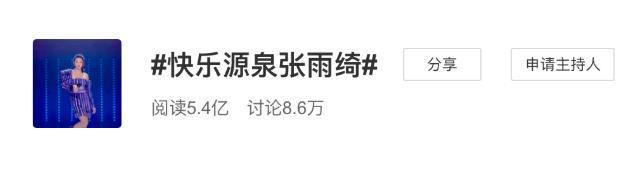"""联博统计:没有""""少女时代""""的张雨绮 现在想要""""C位出道"""" 第3张"""