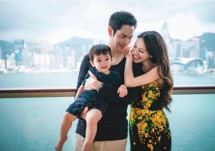 29岁陈凯琳晒性感孕照写真庆生 四肢纤细双腿修长