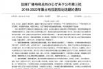广电总局发布重点电视剧选题片单 《功勋》等入选