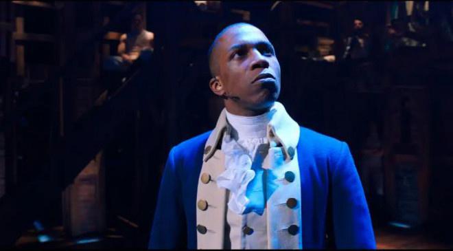 闻名音乐剧《汉密尔顿》新片子版经典片断暴光