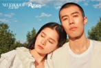 6月28日,演員周游最新大片釋出,攜手張婧儀、梁靖康、周依然,風犬少年再度集結登上雜志封面。
