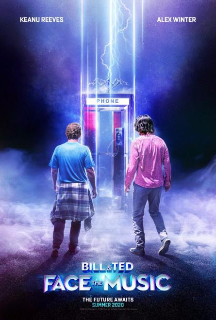里维斯《比尔以及泰德寻歌记》改档 肯定8.29上映