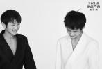 6月30日,《时尚芭莎》发布了一组青年演员荣梓杉、史彭元的时尚大片。近日,由两人主演的家庭悬疑剧《隐秘的角落》热播,他们分别在剧中饰朱朝阳和严良。