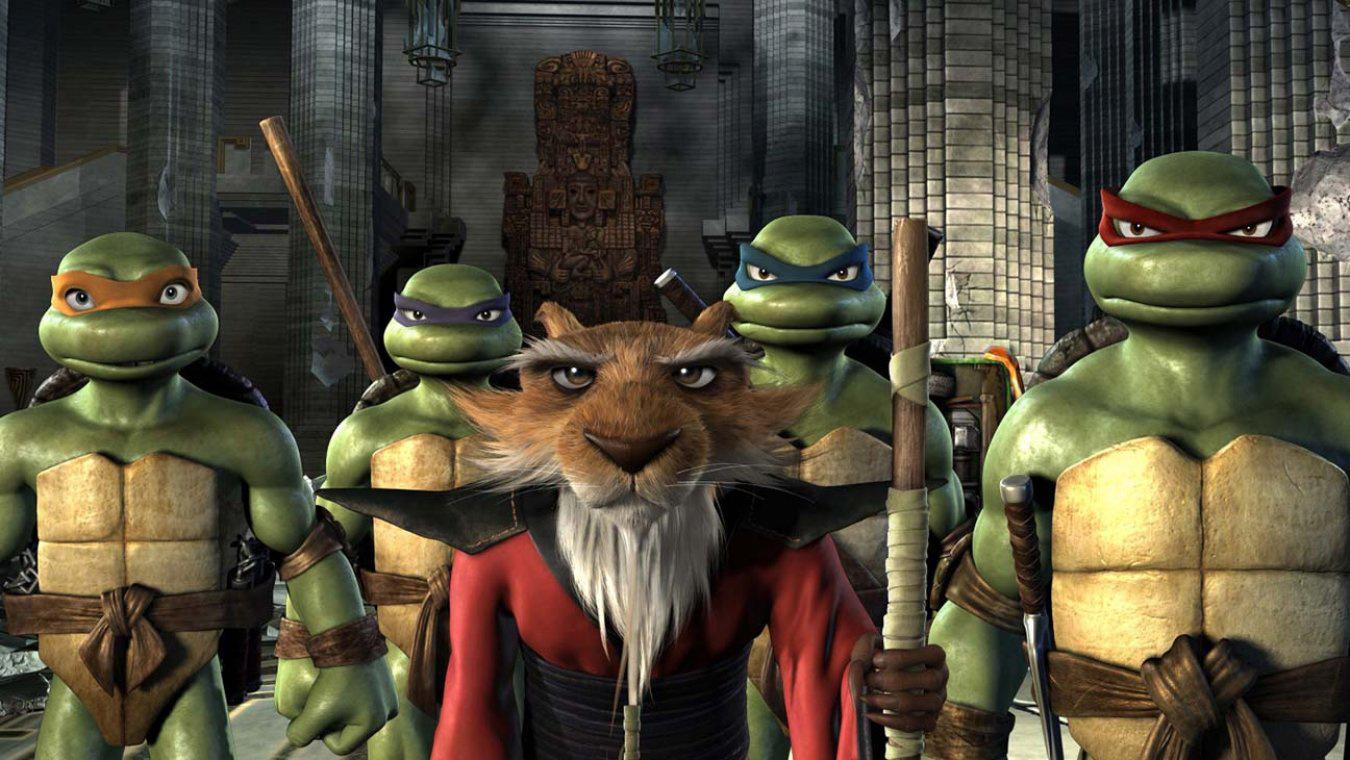 《忍者神龟》将推出动画版 变异乌龟再战年夜银幕