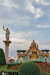 泰国一知名景点起火 曾为台版《流星花园》取景地