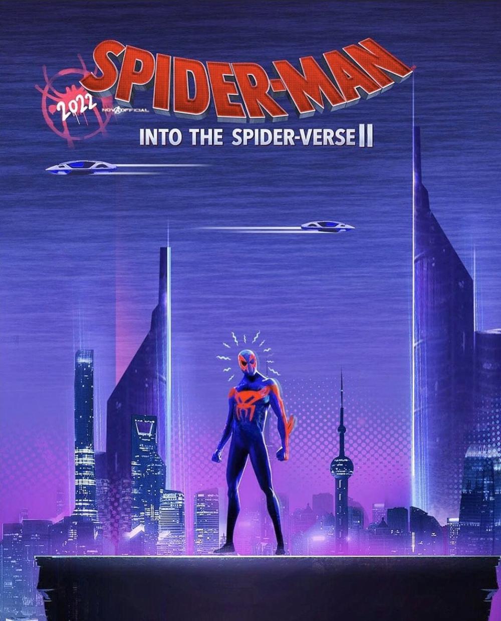 《蜘蛛侠:平行宇宙》续集动态 视效进级使人目眩