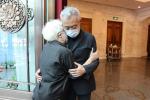 于蓝遗体告别仪式在京举行 葛优等电影人前往悼念