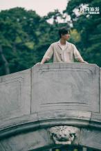 黄轩新国风时尚大片发布 儒雅绅士尽展古典美学