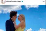 贝克汉姆的大儿子公布喜讯 求婚女友佩尔茨成功