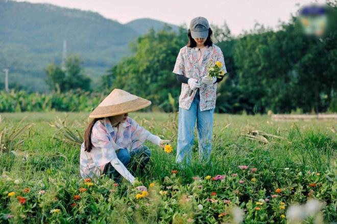 allbetgaming下载:(张子枫欧)阳娜娜田园写真曝光 【姐妹】二人携手摘花 第4张