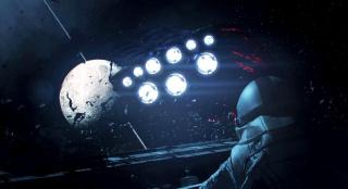 人类战败被毁灭,太空站只剩残骸,仅存的宇航员却仍孤独守卫