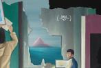 """7月17日,第23届上海国际电影节以""""重逢""""为主题的海报公布后,获得影迷们的一致好评。很快,海报的创作者青年设计师陆云帆""""浮出水面"""",在欣赏了他之前的海报作品后,网友称呼他为""""宝藏男孩""""。"""