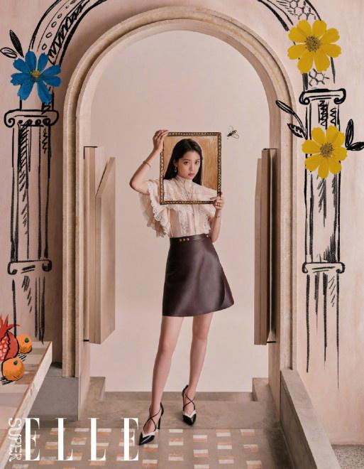 欧博在线官网:时尚圈刮起复古风!欧阳娜娜新封造型俏皮可爱 第5张