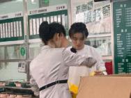 王俊凯《中餐厅》曝路透 为武汉医护人员送爱心餐