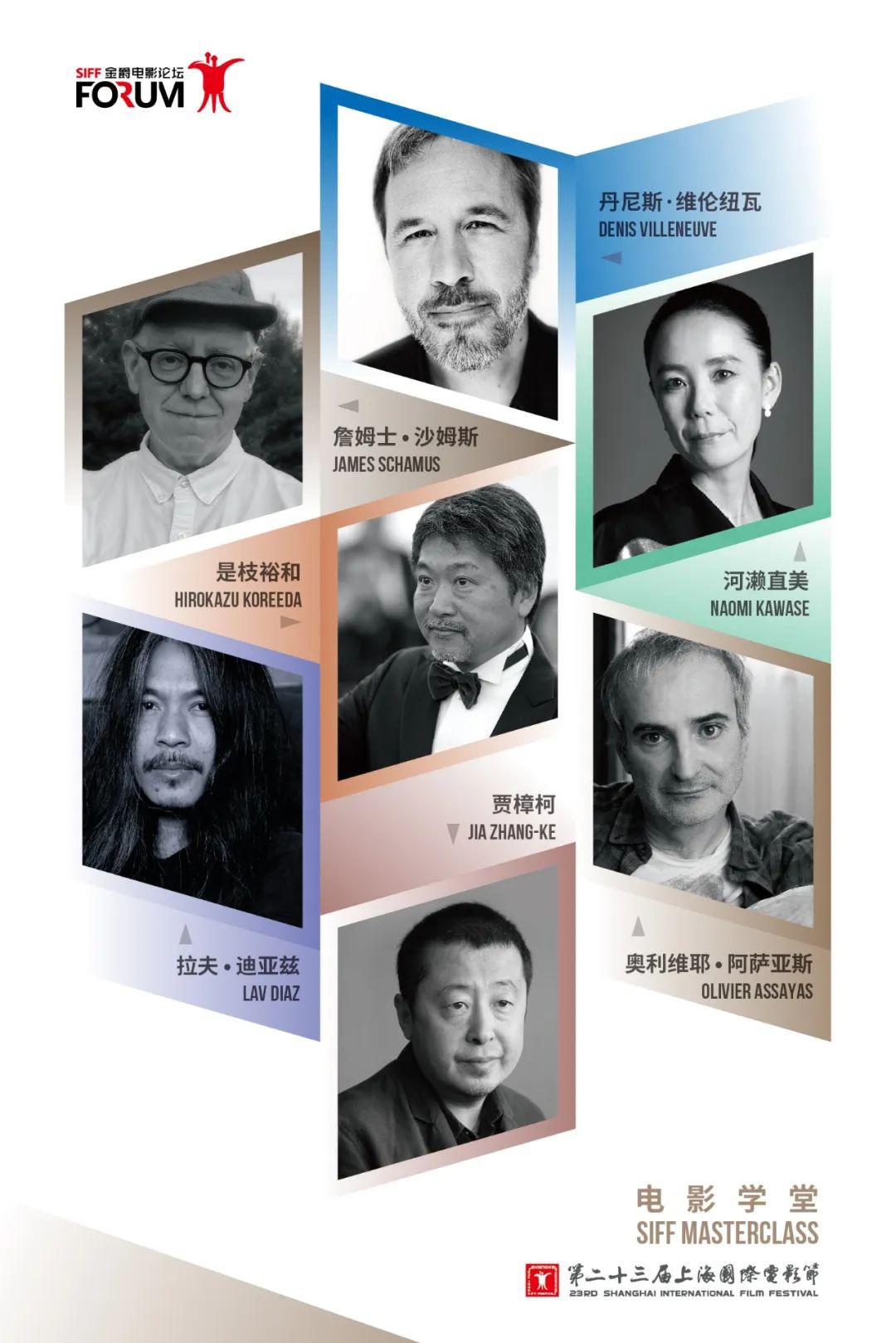 allbet开户:上海电影节宣布大师班嘉宾阵容 贾樟柯徐峥等出席 第1张