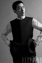 朱一龙板寸造型大片发布 硬朗有型尽显成熟魅力