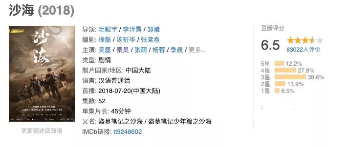 """瑞安人才免费网:南派三叔×朱一龙 《盗墓条记》""""重启""""乐成了吗 第5张"""