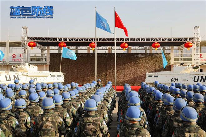 纪念中国维和30周年 电影《蓝色防线》首曝预告