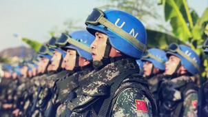 为世界和平献礼 纪实电影《蓝色防线》2020年蓄势待发