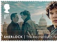 开播十周年!英剧《神探夏洛克》发行纪念邮票