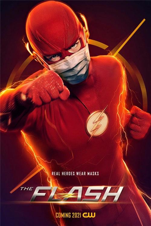 DC英雄戴口罩!《闪电侠》《超人》等曝新海报