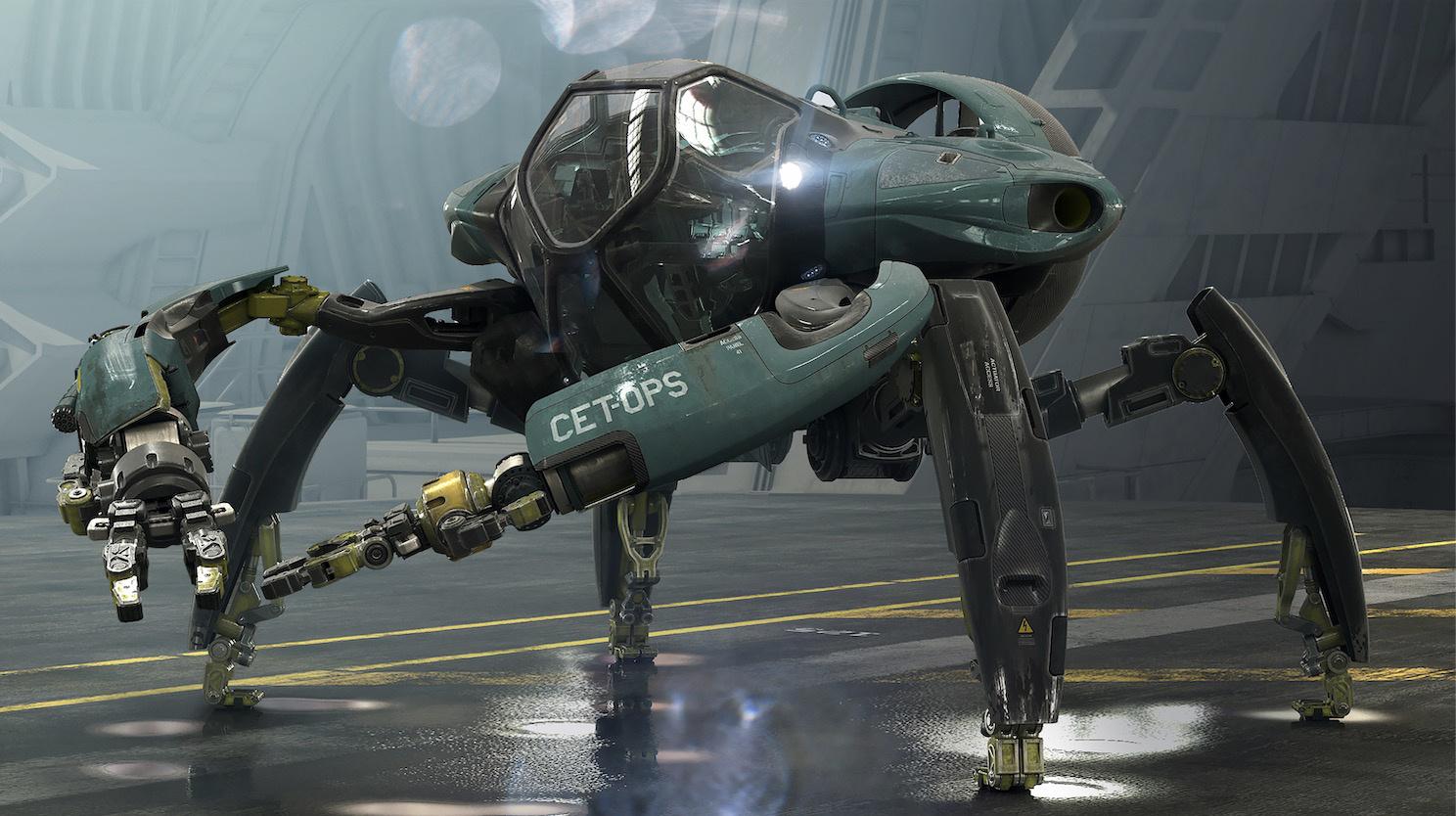 《阿凡达》续集曝概念图 巨型水下机器震撼来袭