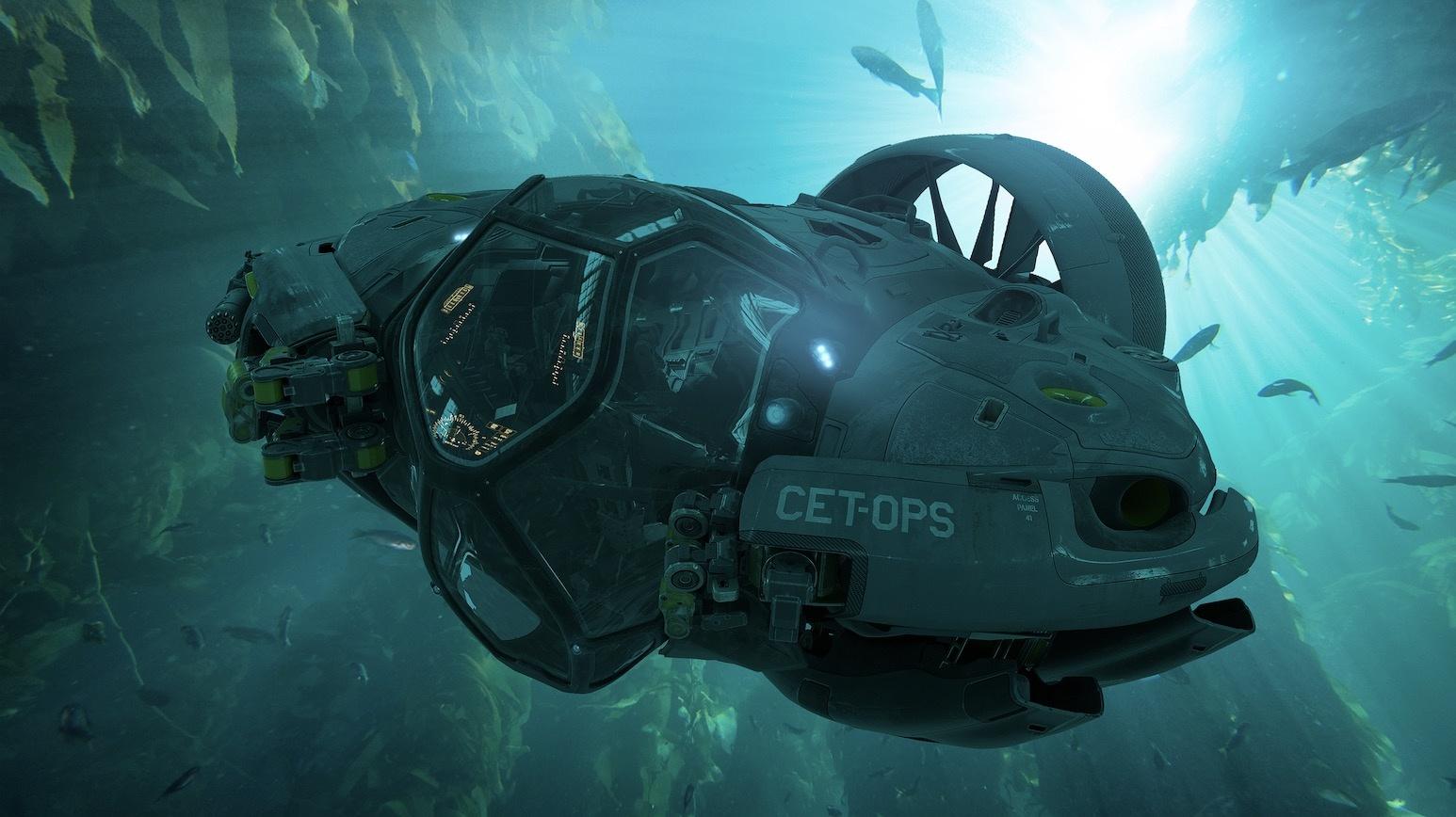 《阿凡达》续集暴露概念图震惊巨型水下机器