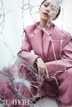 Angelababy金九封!碎玻璃大片呈现不同角度的美