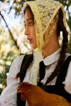 Angelababy穿黎族服饰 化身海岛少女夏日感满满