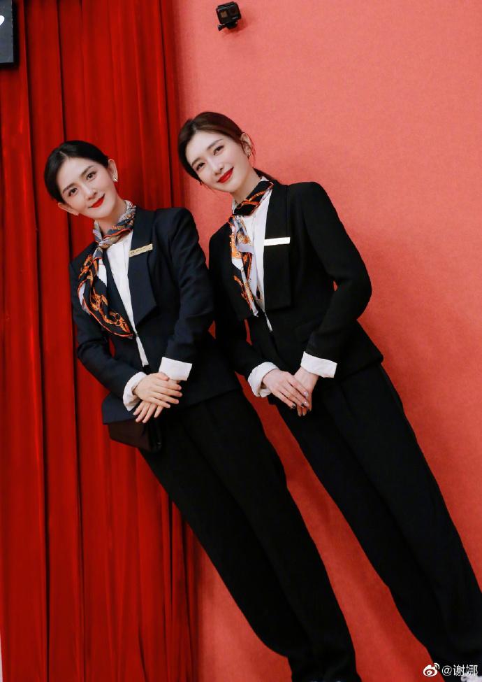 欧博网址多少:双胞胎姐妹?谢娜模拟江疏影 真假王漫妮分不清