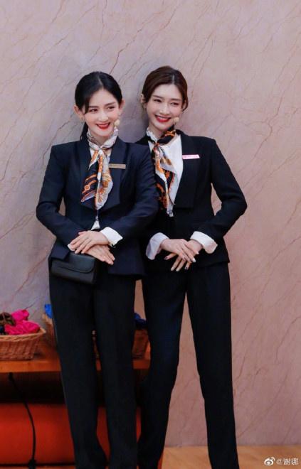 《【杏鑫娱乐代理】双胞胎姐妹?谢娜模仿江疏影 真假王漫妮分不清》