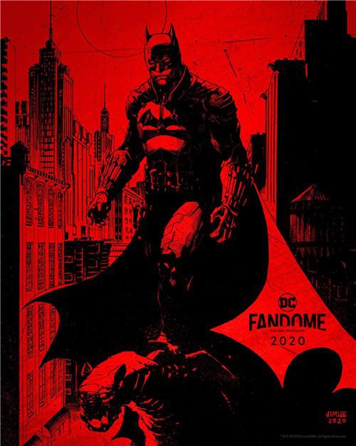 新版《蝙蝠侠》曝全新标志 血色猩红暗黑感强烈