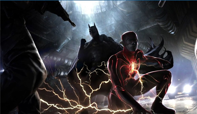 DC《闪电侠》概念图曝光 开启新宇宙蝙蝠侠乱入