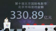 北京市場簽約額達330.89億元 張涵予新片引期待