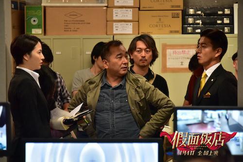 《假面饭店》9.4上映 木村拓哉松隆子再度同框