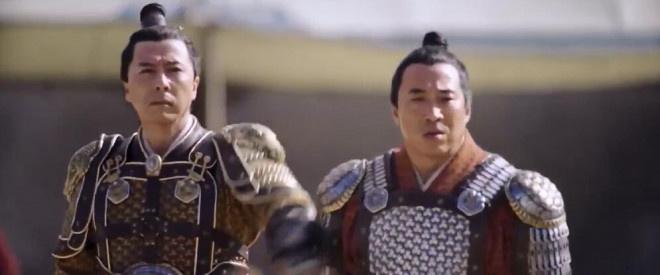 新版《花木兰》正片曝光 刘亦菲踢长枪与男兵对打