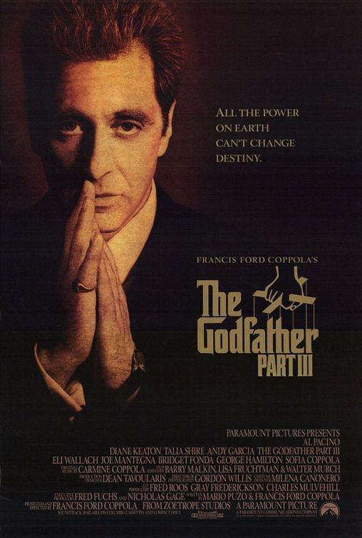 《教父3》将发行导演剪辑版 科波拉:最佳收尾