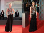 凯特·布兰切特穿4年前礼服走红毯 身材颜值无变化
