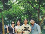 杨祐宁与妻子公证结婚画面曝光 姐姐温馨送祝福