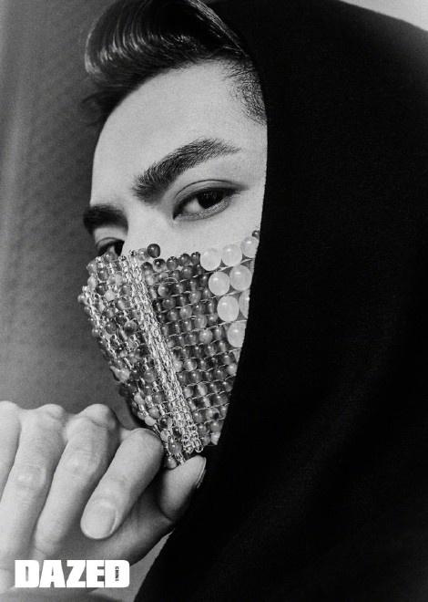 环球ug注册:吴亦凡时尚大片公布 戴雕金玉面口罩彰显东方气韵 第4张