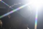 9月13日晚,王俊凯工作室通过微博分享了一组Boss在练习室的花絮照。黑蒙蒙的练习室中,王俊凯穿着白色T恤正在练舞。一束束聚光投射出炫彩的光线投射在王俊凯周身,勾勒出少年绝美的侧颜,高挺的鼻梁、低垂的眼眸,精致的下颌线条,还有被汗水浸湿的刘海随意垂在额前;布满细汗的手臂、和颈部的肌肉线条紧绷,带着一丝色气,宣扬着男性荷尔蒙。