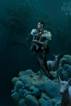 钟楚曦镜花水月大片发布 美人与灵兽打造梦幻画面