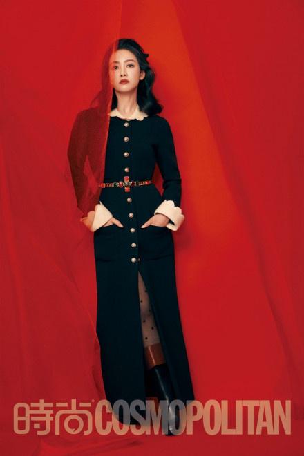 宋茜暗黑公主造型登封 气场全开展绝佳时尚表现力 第5张