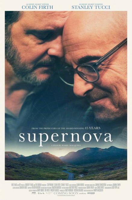 《超新星》发海报 科林·费斯和斯坦利·图齐厮守