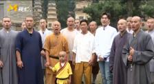 王宝强重回少林寺 找寻童年习武成长记忆