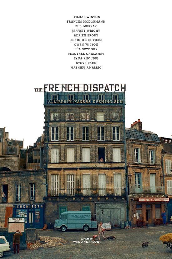 《法兰西特派》退出颁奖季 或将于明年戛纳首映 第1张