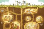 皮克斯动画短片《洞穴》海报曝光 刺猬鼹鼠成邻居