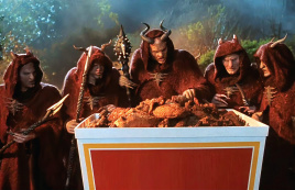 恶魔来消灭人类,却被一个男子用炸鸡征服,一部搞笑奇幻电影