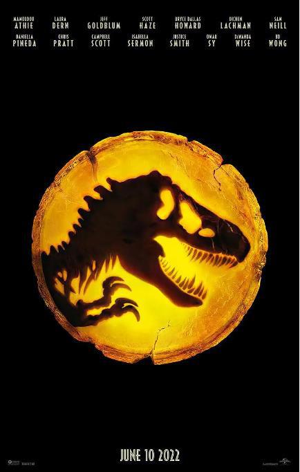 延期一年!《侏罗纪世界3:统治》2022暑期上映